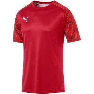 Puma CUP TRAINING JERSEY červená XL - Pánské sportovní triko