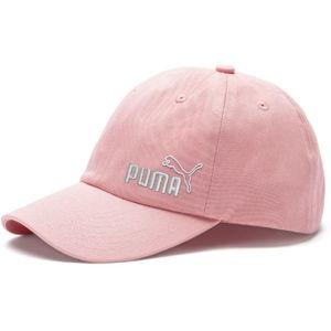 Puma ESS CAP JNR růžová UNI - Dětská kšiltovka