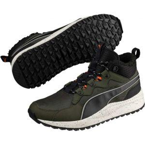 Puma PACER NEXT SB WTR zelená 10.5 - Pánské volnočasové boty