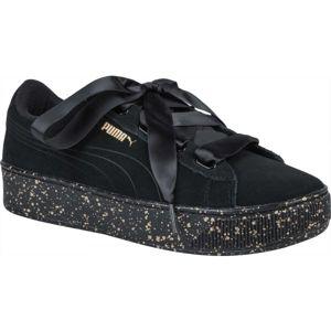 Puma VIKKY PLATFORM RIBBON černá 5 - Dámská volnočasová obuv
