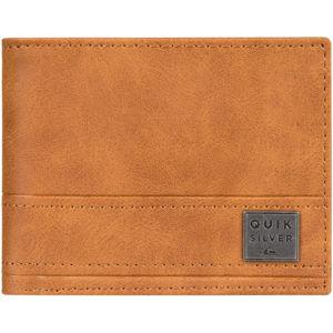 Quiksilver NEW STITCHY WALLET hnědá M - Pánská peněženka