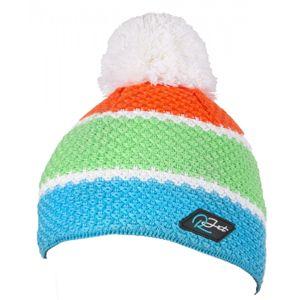 R-JET HRUBĚ PLETENÁ 3P modrá UNI - Pánská hrubě pletená čepice