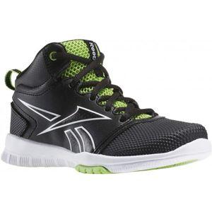 Reebok OWN THE COURT 2.0 černá 10.5 - Dětská basketbalová obuv