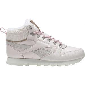 Reebok CL LTHR ARCTIC BOOT  5 - Dámská zimní obuv