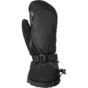 Reusch YETA MITTEN černá 7 - Dámské lyžařské rukavice