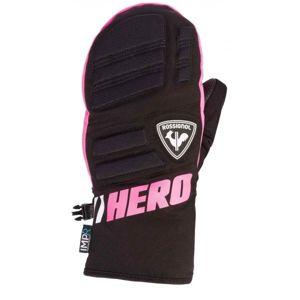 Rossignol JR RACE IMPR M černá 8 - Juniorské lyžařské rukavice