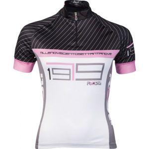 Rosti GESSATO LADY KR ZIP černá XL - Dámský cyklistický dres