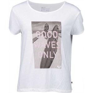Roxy TALK ABOUT IT bílá M - Dámské tričko