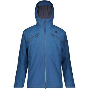 Scott ULTIMATE GTX 3 IN 1 JACKET tmavě modrá XXL - Pánská lyžařská bunda