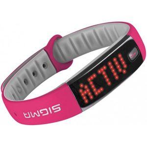 Sigma ACTIVO růžová NS - Fitness náramek