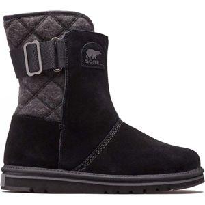 Sorel NEWBIE černá 9.5 - Dámská zimní obuv