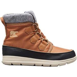 Sorel EXPLORER CARNIVAl hnědá 8 - Dámská zimní obuv