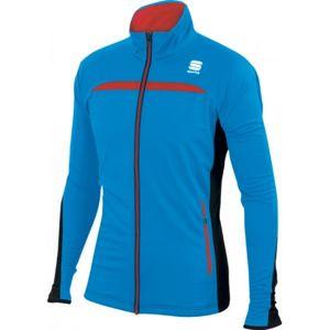 Sportful ENGADIN WIND JACKET modrá XXL - Sportovní bunda