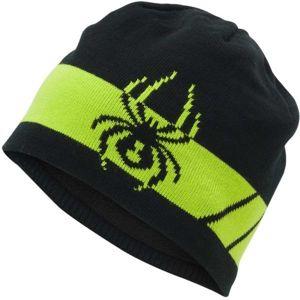 Spyder SHELBY HAT černá UNI - Pánská čepice
