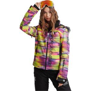 Superdry SD SKI RUN JACKET žlutá 12 - Dámská lyžařská bunda