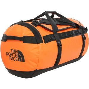 The North Face BASE CAMP DUFFEL oranžová L - Sportovní taška
