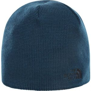 The North Face BONES RECYCED BEANIE modrá  - Čepice