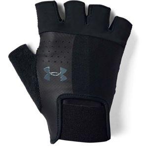 Under Armour MEN'S TRAINING GLOVE černá M - Pánské tréninkové rukavice