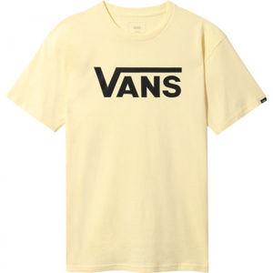 Vans MN CLASSIC DOUBLE světle růžová XS - Pánské triko