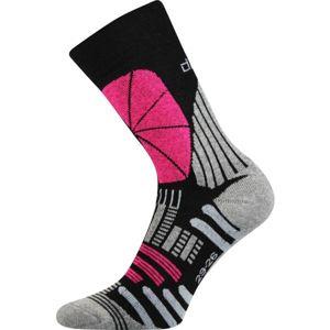 Voxx LAURA tmavě šedá 23-25 - Dámské ponožky