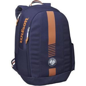Wilson ROLAND GARROS TEAM BACKPACK tmavě modrá NS - Tenisový batoh