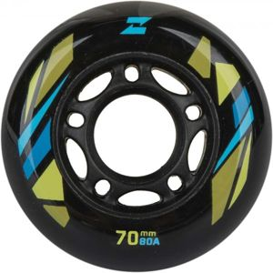 Zealot 70-80A WHEELS 4PACK zelená NS - Sada in-line koleček
